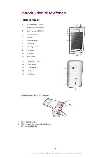 Sony Ericsson Mobile Communications AB - Billige mobiltelefoner ...