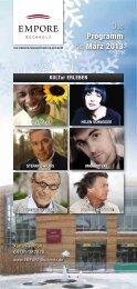 Das Programm bis März 2013 - Empore Buchholz