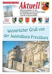 Aktuelles Mitteilungsblatt 50/2012 - Verbandsgemeinde Kirchen, Sieg