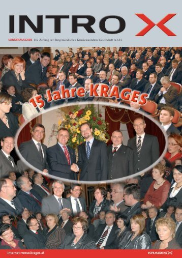 15 Jahre KRAGES - Burgenländische Krankenanstalten GesmbH
