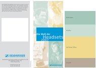 Katalog Professioneller Headsets (2,8 MB)