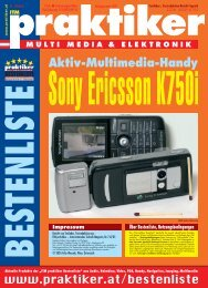 Sony Ericsson K750i: Aktiv-Multimedia-Handy - ITM ... - praktiker.at