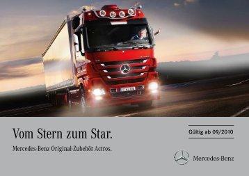 Mercedes-Benz Original-Zubehör Actros.