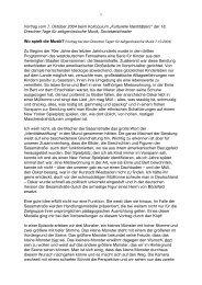 der 18. Dresdner Tage für zeitgenössische Musik - Robin Hoffmann