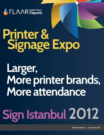 Latex printers at Sign Istanbul exhibitor list 2012 - large-format ...