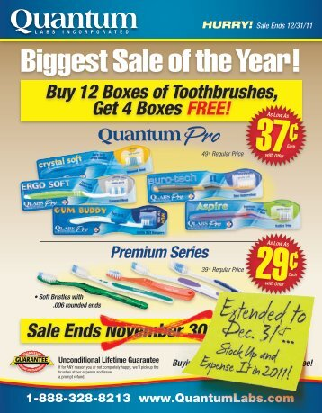 Biggest Sale of the Year! - Quantum Labs