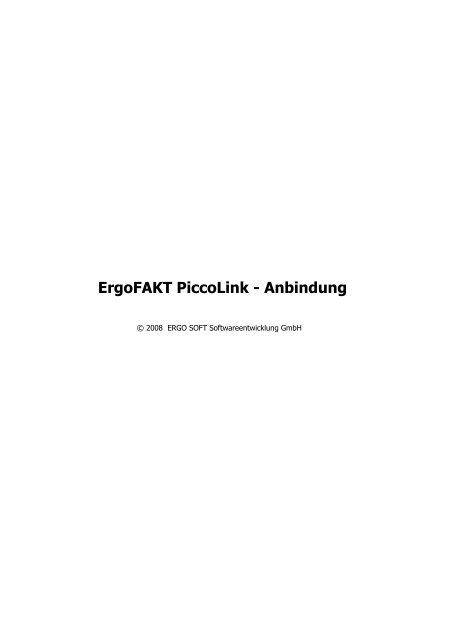 Registerkarte - Ergo Soft Softwareentwicklung GmbH
