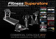 COMMERCIAL CATALOGUE 2012 - Fitness Superstore