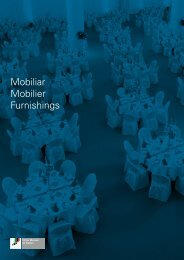Mobiliar Mobilier Furnishings - Olma Messen St.Gallen