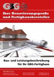 Ihre Renovierungsprofis und Fertighaushersteller - GBG GmbH & Co ...