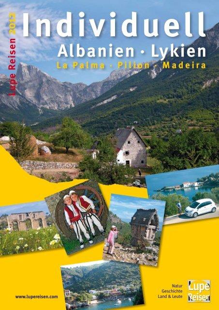 Albanien · Lykien - Lupe Reisen