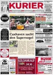 Cuxhaven sucht den Supervogel - Hadler Kurier