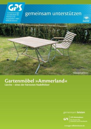 Gartenmöbel »Ammerland« Lärche - GPS