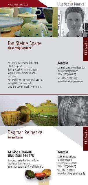30. November - 23. Dezember 2012 - Regensburg Lucrezia ...