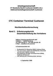 CTC Container-Terminal Cuxhaven - AntiPort - Bürger gegen den ...