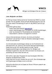 Bulletin Nr. 1 August 2012 - WWCS