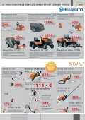 erste Preis - Rasenmäher, Rasentraktor, Akku-Mäher, Motor-Sägen ... - Page 2
