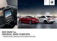 DER BMW er. ORIGINAL BMW ZUBEHÖR. - BMW Deutschland