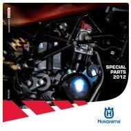 SPECIAL PARTS 2012 - Husqvarna Motorrad Deutschland