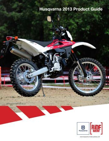 Husqvarna 2013 Product Guide - Heroes Ride Huskys