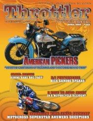 "Do you know? Toby ""Tut"" Tutton - Throttler Motorcycle Magazine"