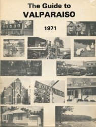 The Guide to Valparaiso, 1971 - Porter County, Indiana