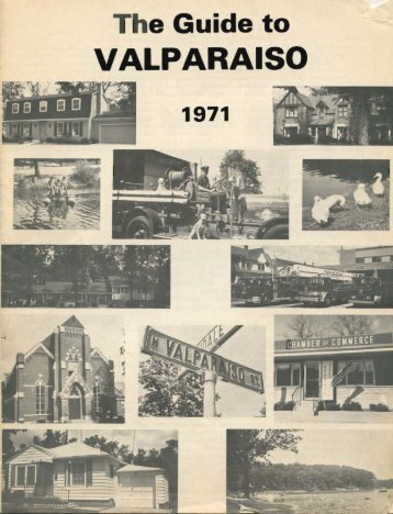 The Guide to Valparaiso, 1971 - Porter County, Indiana
