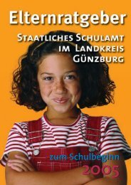 G nzburg Umbruch 18.2.05 - Ratgeber Schulbeginn