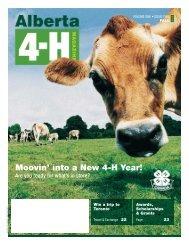 Alberta 4-H Magazine - Agriculture and Rural Development