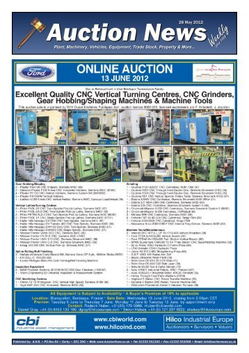 Auction News May 28 12 - Auction News Services
