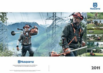 Husqvarna Deutschland GmbH. Hans-Lorenser-Strasse 40. 89079 ...
