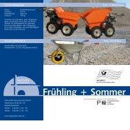 weitere info... - Odenwälder Baumaschinen Gruppe