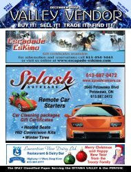 Dec 17 your ad and $$$ to reach us by then PAST DEADLINE ADS ...