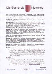 Protokoll zur Sitzung vom 27.05.2008 (652 KB - Längenfeld