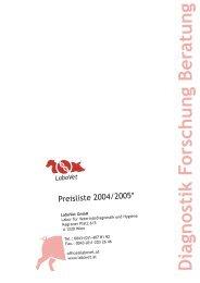 Diagnostik Forschung Beratung - Labovet GmbH