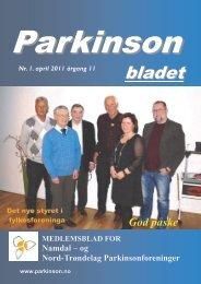 Parkinsonbladet nr 1 - Norges Parkinsonforbund