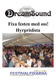 Klicka här för en Hyreskatalog - PDF - DreamSound