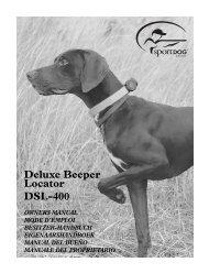 Deluxe Beeper Locator DSL-400