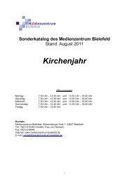 Kirchenjahr - Medienzentrum Bielefeld