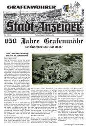 650 Jahre Grafenwöhr