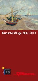KunstAusflüge 2012-2013 - Agentur für Kunstvermittlung