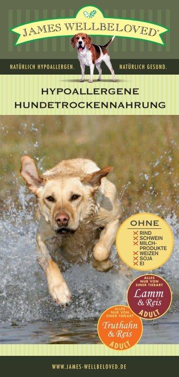 hypoallergene hundetrockennahrung - James Wellbeloved