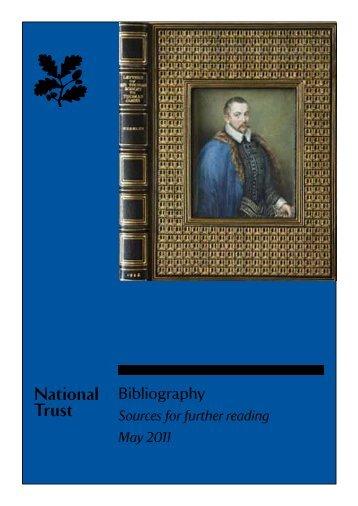 National Trust Bibliography
