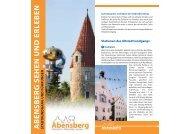 Kalender #64013 - Stadt Abensberg
