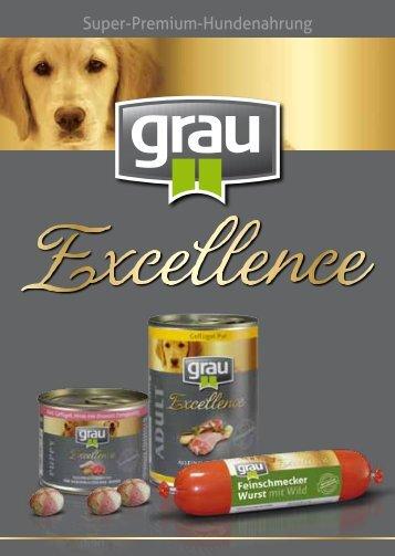 Super-Premium-Hundenahrung - Grau Excellence