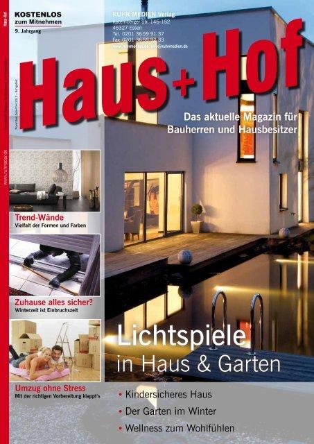 Aktuelle Ausgabe Haus+Hof zum Download - RUHR MEDIEN ...