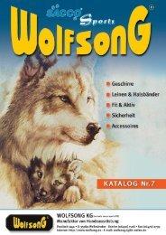 Lederleinen und Halsbänder - Wolfsong
