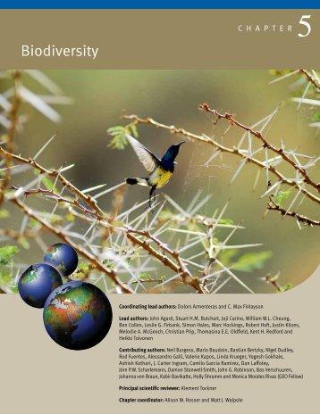 Biodiversity - UNEP