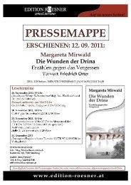 Pressemappe (Format pdf, 1304 kb) - Edition Roesner
