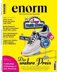 dazu im neuen Heft 6 / 2012 - Enorm
